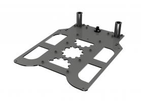 Сборка 3D принтера GearMaker P-One своими руками. Часть 3: Установка портала и направляющих Z