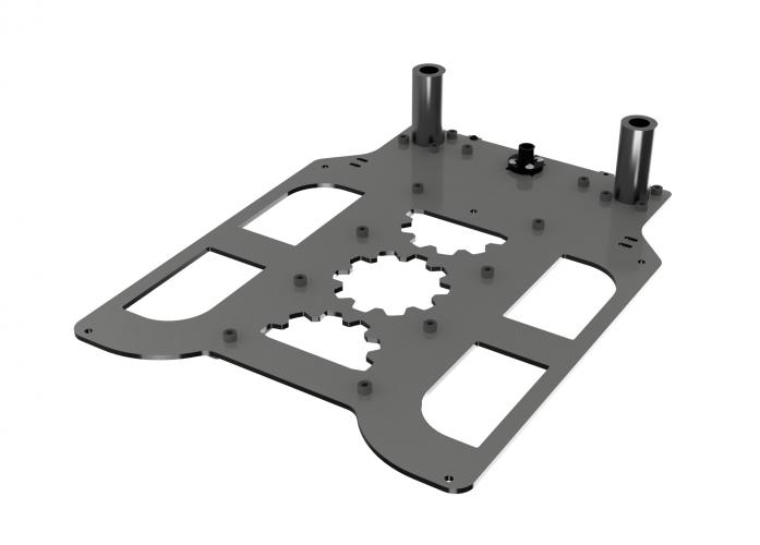 Самостоятельная сборка 3D-принтера GearMaker P-One: Установка портала и направляющих Z
