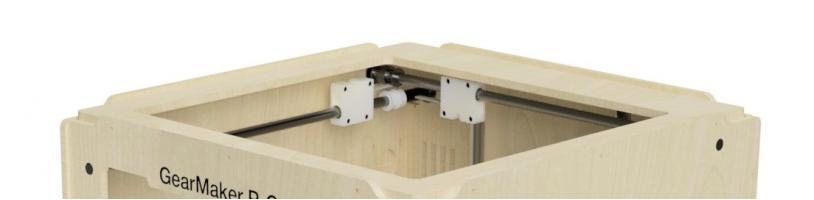 Сборка 3D принтера GearMaker P-One своими руками. Часть 4: Установка кареток