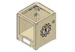 Сборка 3D принтера GearMaker P-One своими руками. Часть 2: Сборка корпуса и направляющих
