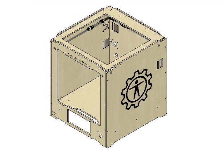 Самостоятельная сборка 3D-принтера GearMaker P-One: сборка корпуса и направляющих X Y