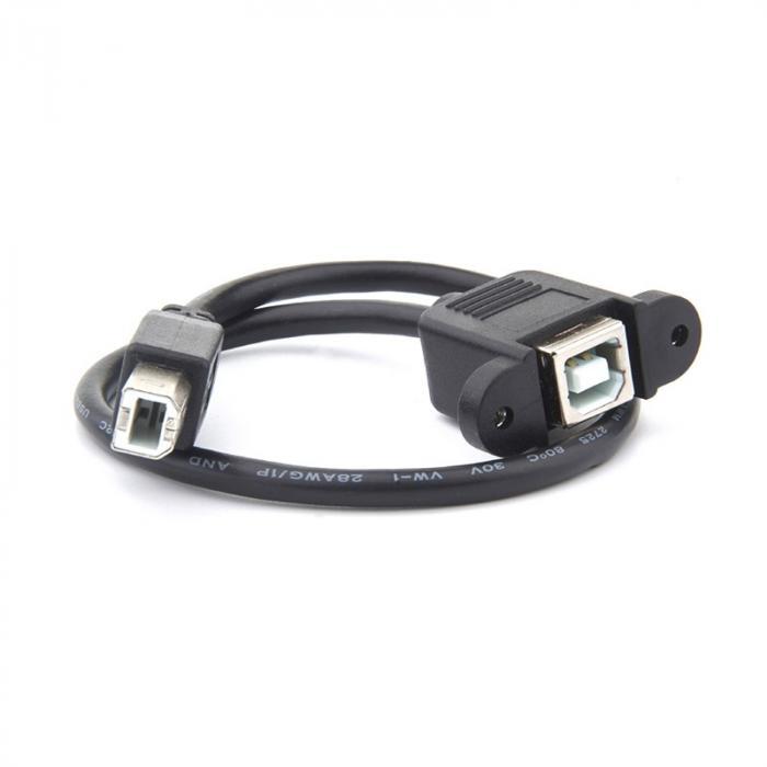 Удлинитель USB Type B с креплением на панель