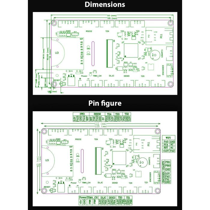 Дисплей BIGTREETECH TFT35 v2.0