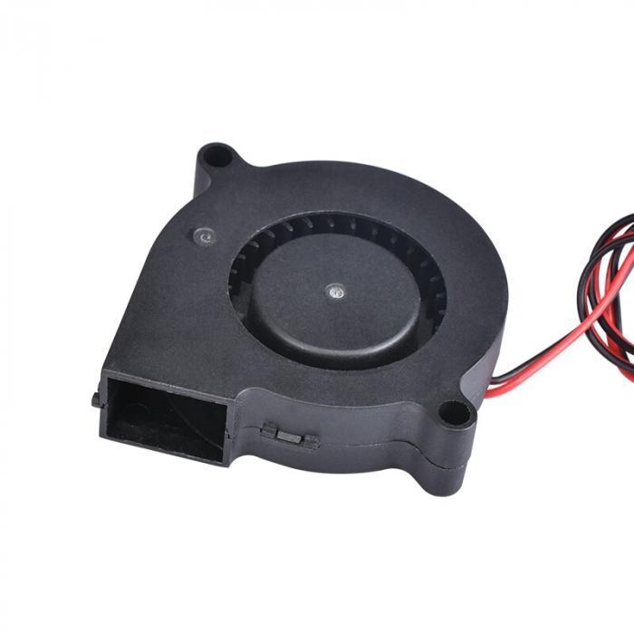 Вентилятор 5015 24V радиальный (улитка)