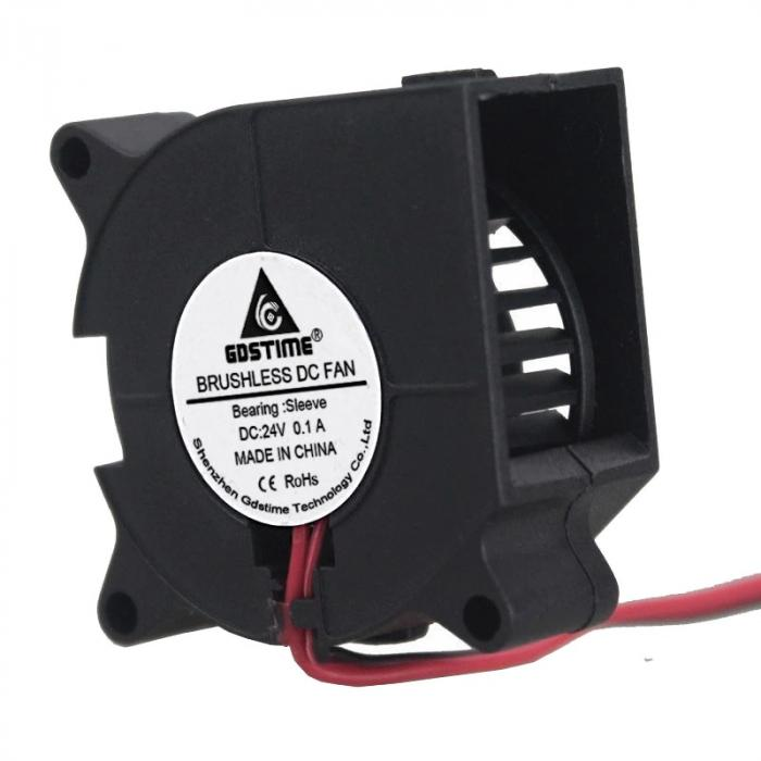 Вентилятор 4020 24V GDSTIME радиальный (улитка)