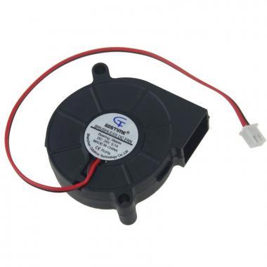 Вентилятор 5015 24V GDSTIME радиальный (улитка)
