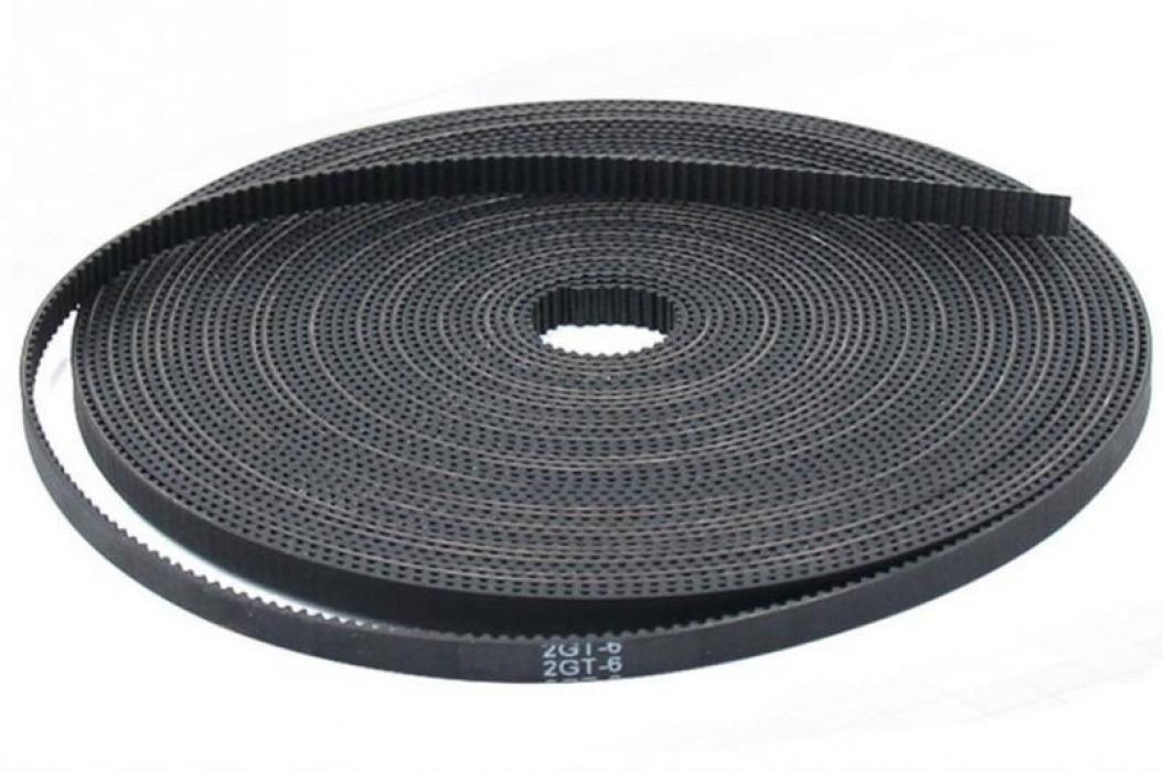 Ремень GT2 6мм, армированный полимерным волокном