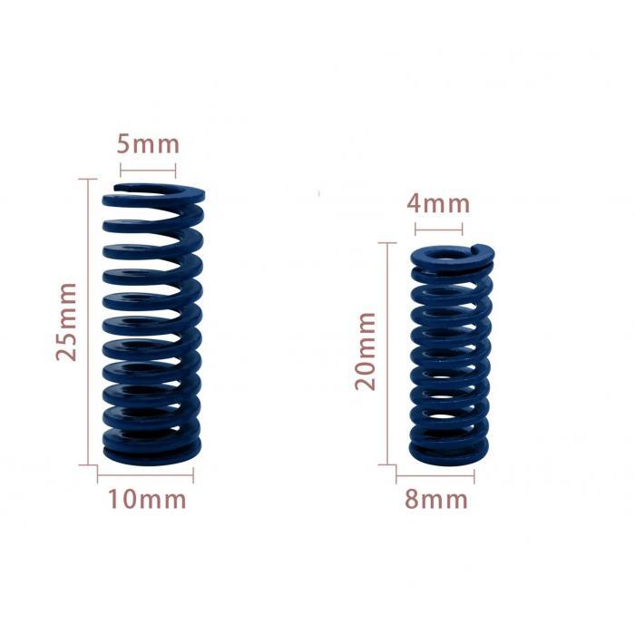 Пружина для стола 3D принтера (синяя)