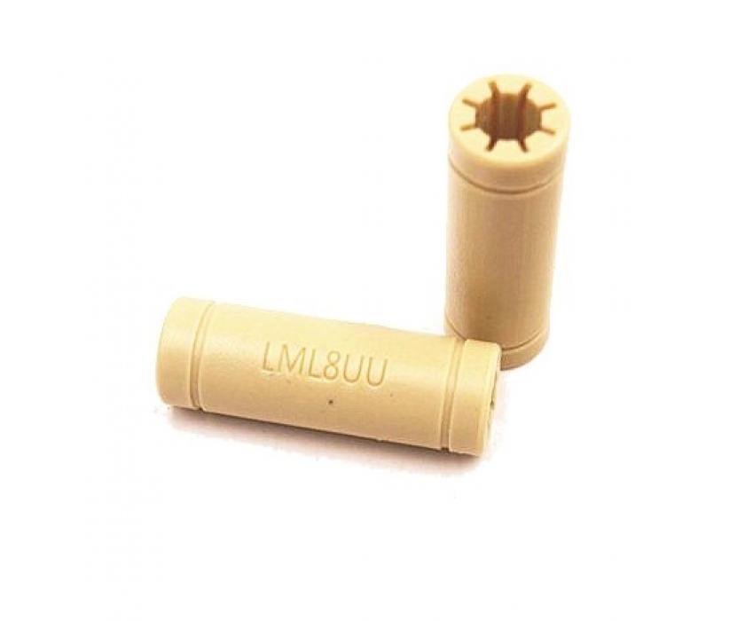 Подшипник линейный пластиковый LM6LUU (RJMPT-01-06)