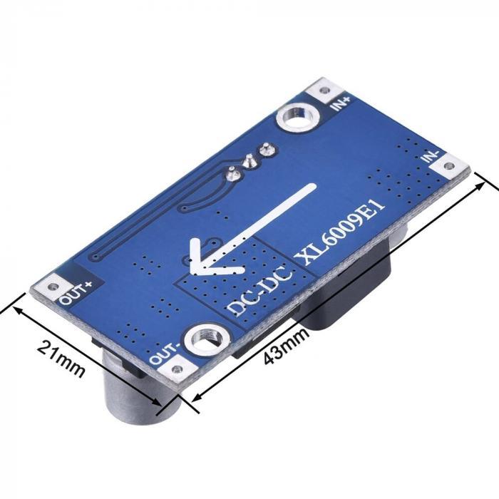 Преобразователь напряжения повышающий xl6009 3А DC-DC