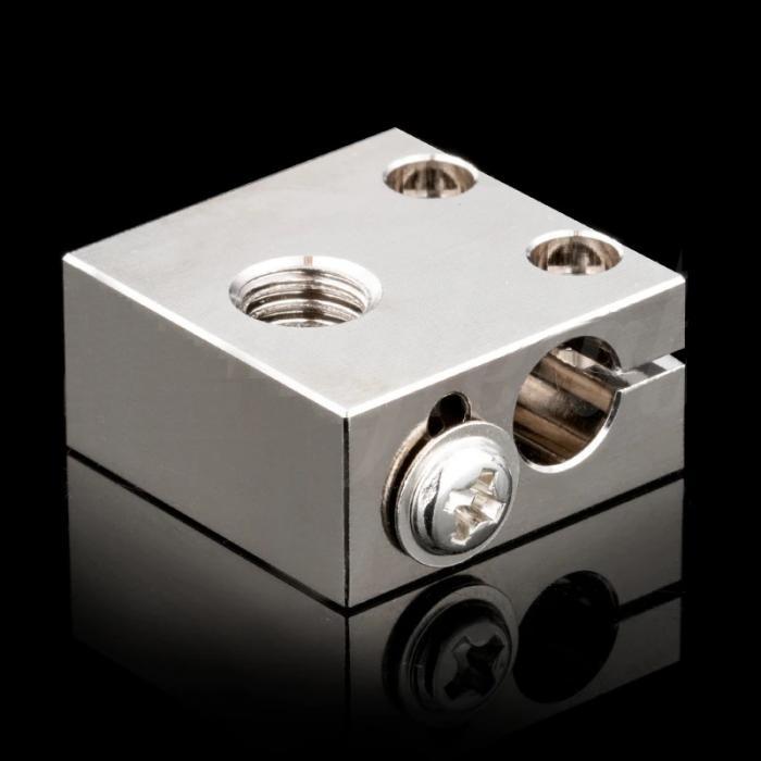 Нагревательный блок CR-10 (медь) от Trianglelab