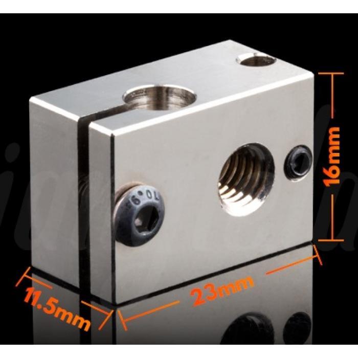 Нагревательный блок E3D V6 (медь) от Trianglelab