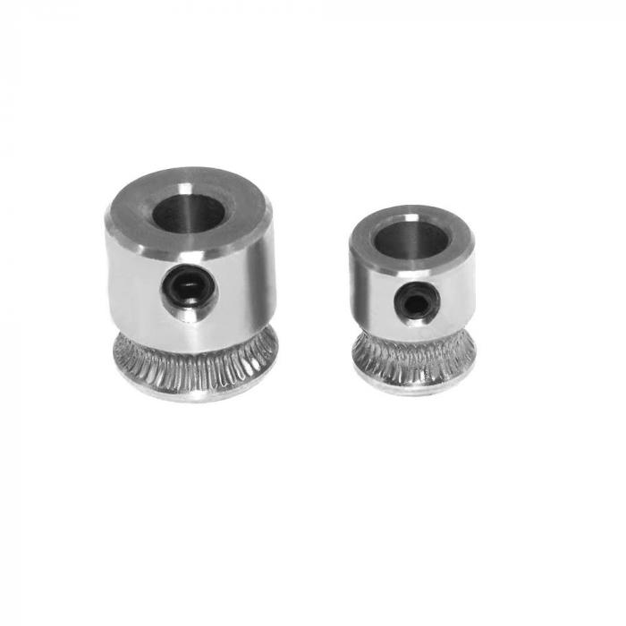 Шкив для протяжки филамента MK7 MK8, сталь