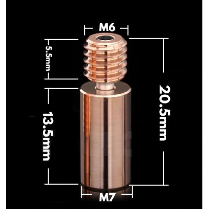 Термобарьер MK8 от Trianglelab Bi-Metal