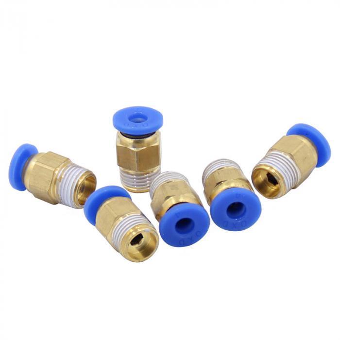 Фитинг PC4-01 для трубки 4мм