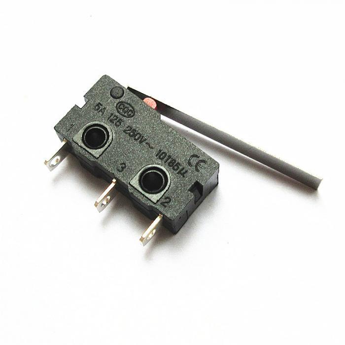 Концевой переключатель KW-11 / KW12-C-28MM с удлиненной лапкой